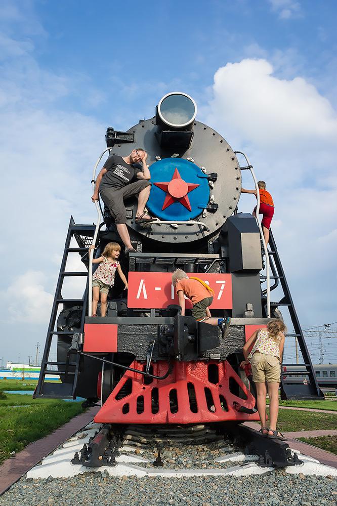 Kolej Transsyberyjska - Czerwona gwiazda nadal świeci