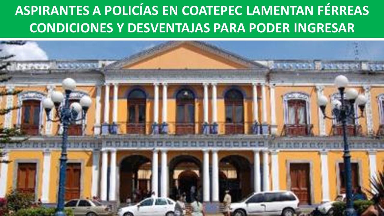 aspirantes a policia