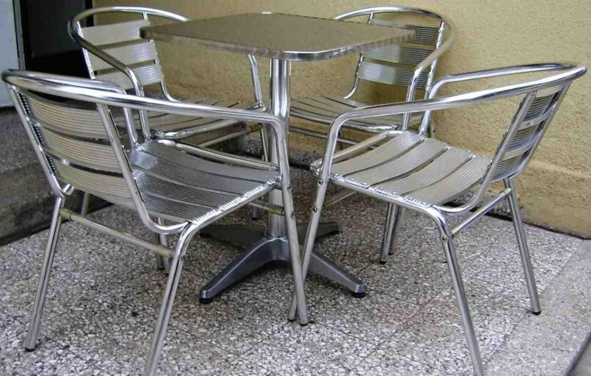 Hogar 10 muebles ba sicos para exterior for Muebles de exterior aluminio