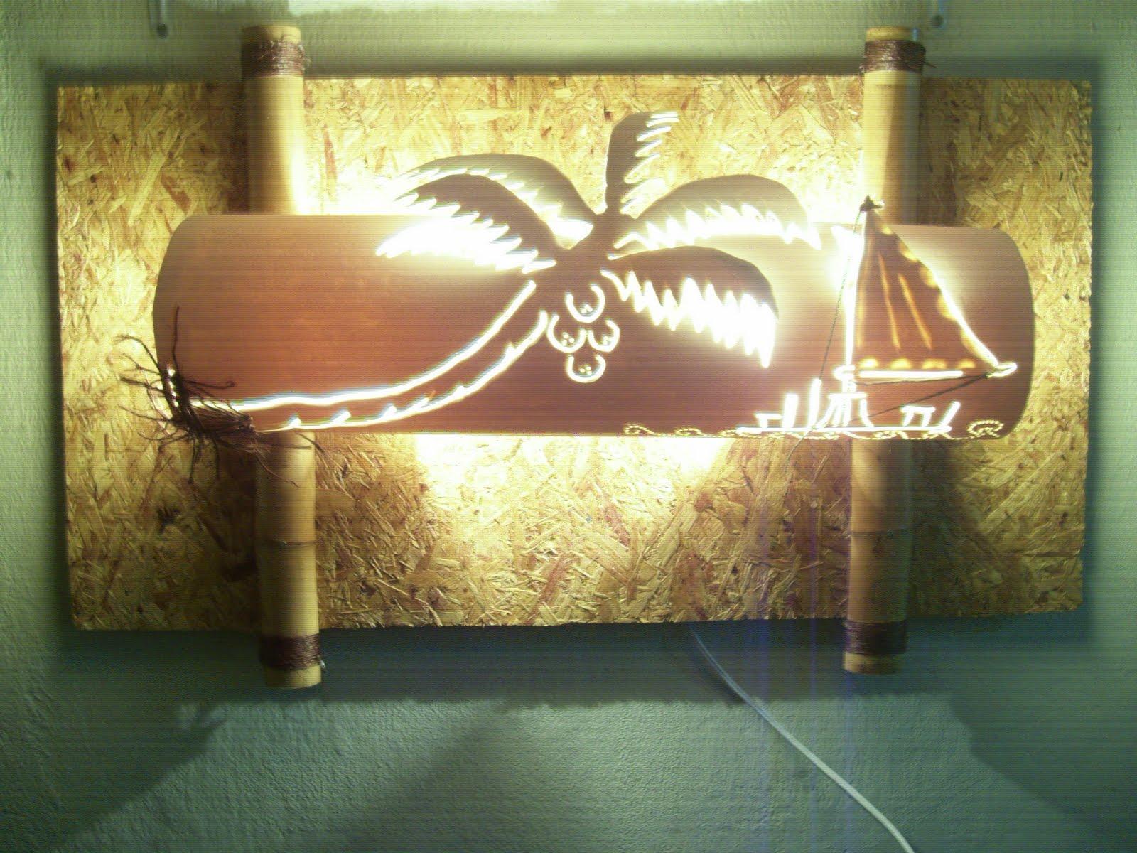 Oficina Luminart: Arandela Vida Mansa em PVC 100cm X 40cm #93A02B 1600x1200