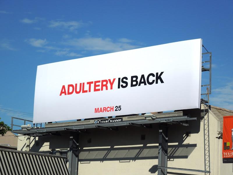 Mad Men season 5 Adultery is back teaser billboard