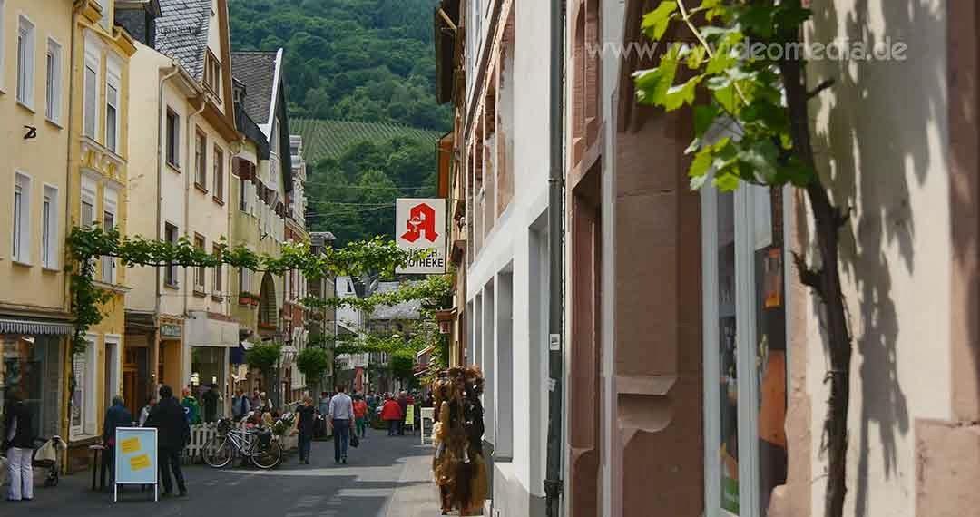 Pedestrian zone Traben-Trarbach