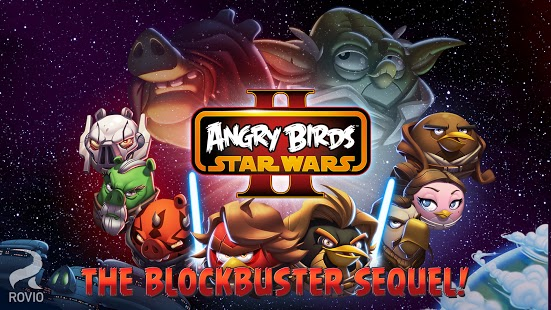 Angry Birds Star Wars 2 available for Free now for Android, and paid versions available for iOS and Windows Phone
