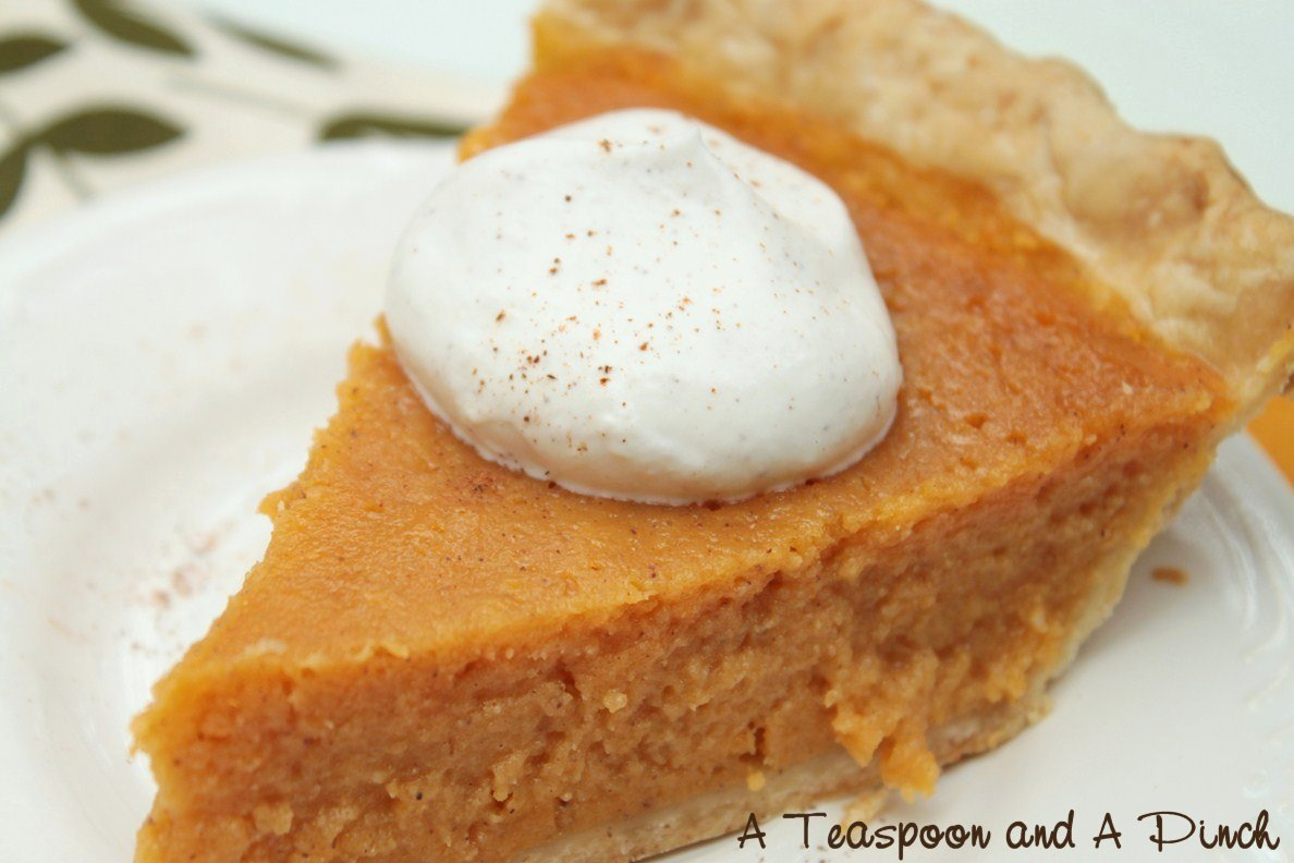 A Teaspoon and A Pinch: Sweet Potato Pie