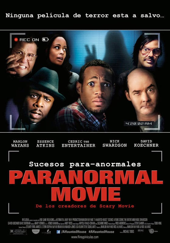 Paranormal Movie (2013) [DVDRip][Castellano AC3 5.1][Comedia]