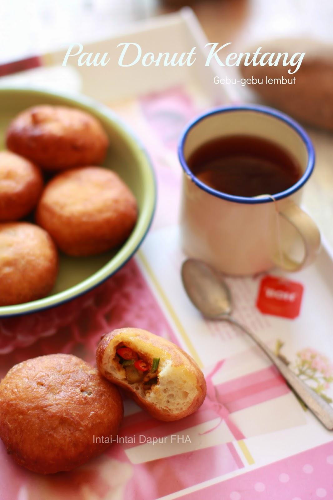 PAU DONUT KENTANG Inti Daging - FHA Selemak Santan