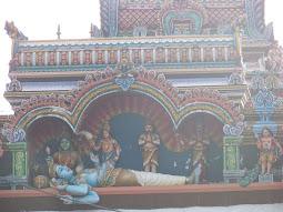 ஆந்திரா சுருட்டப்பள்ளியில் சயன கோலத்தில் சிவன்