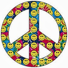 PEACE AND SMILEY