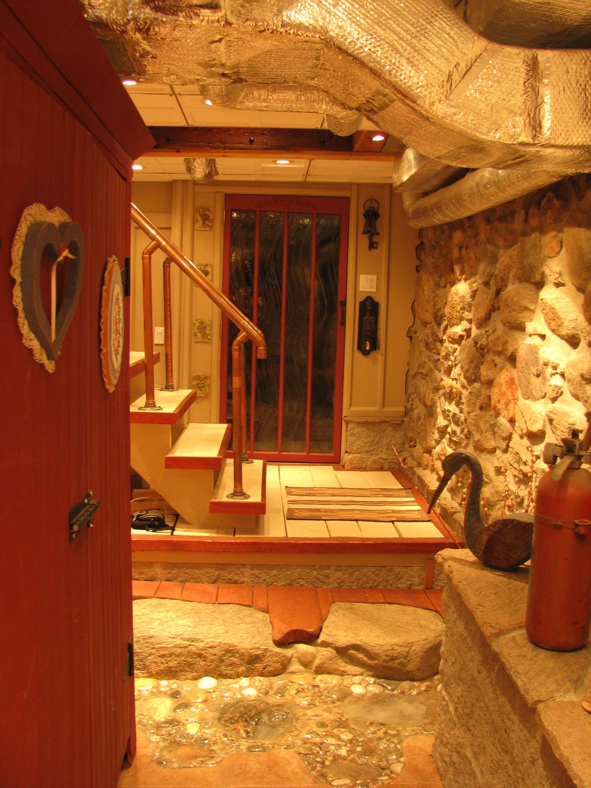 Serendipitous Home A Bathroom Reno And A Unique Basement Reno