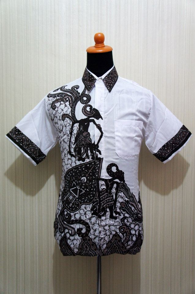 Baju Grosir Jogja Batik Cowok Cap Wayang Bcw Sold
