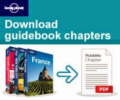 Working with Lonely Planet to give you their latest Digital PDF Travel Guides & Chapters.
