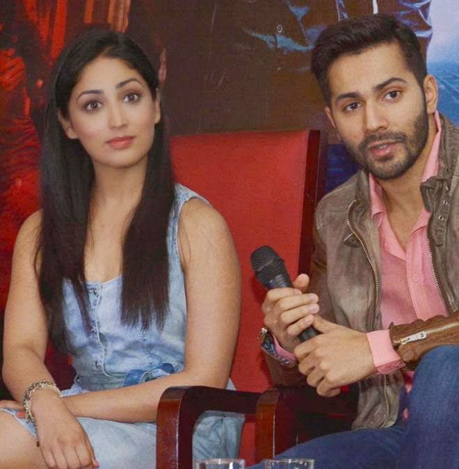 yami gautam and varun dhawan latest hot pics
