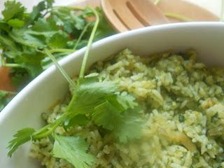 kotthamalli rice