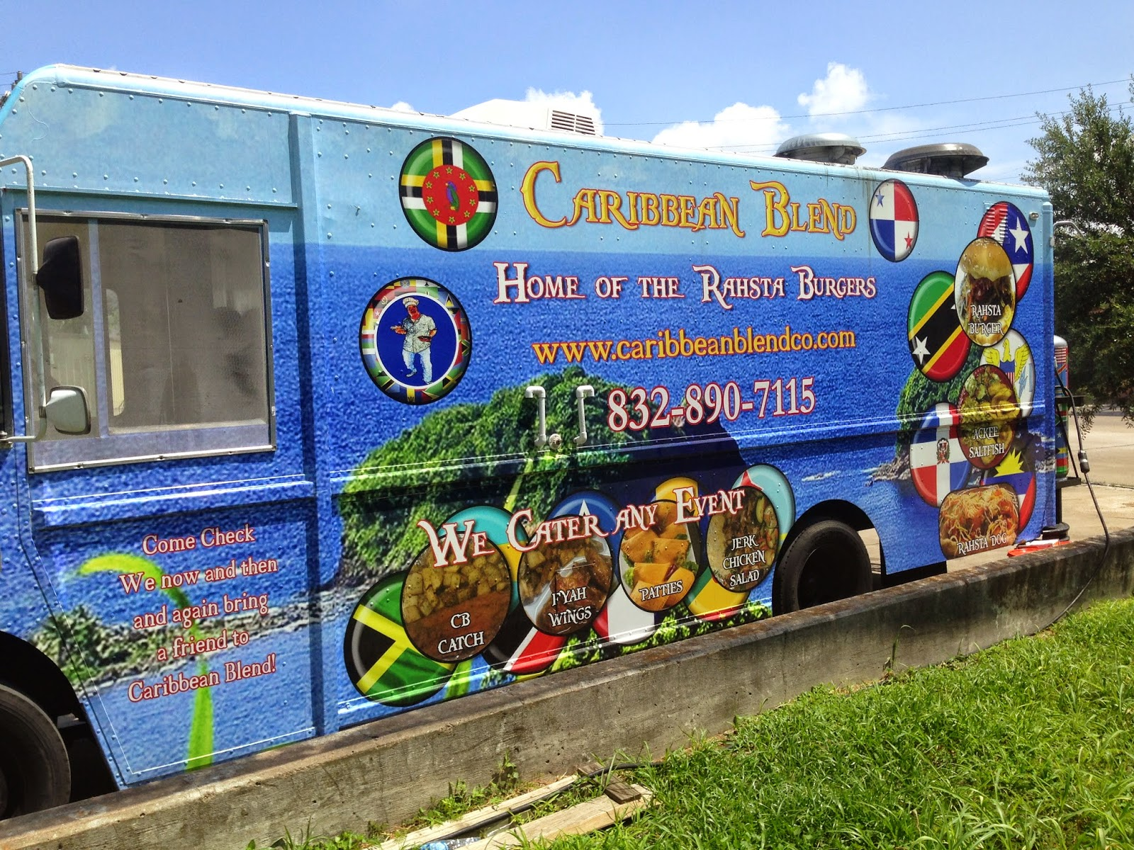 Caribbean Blend Food Truck, Houston TX