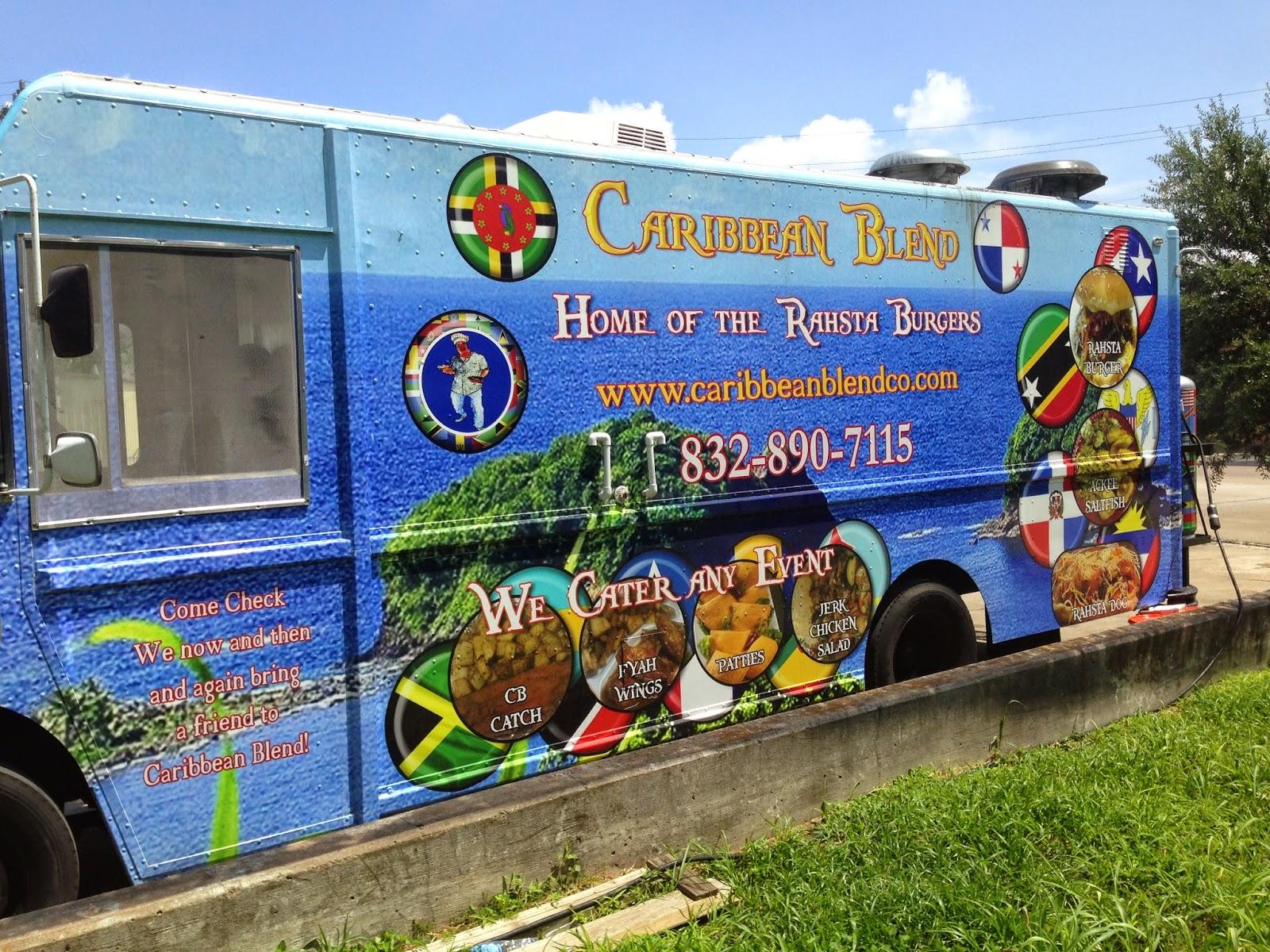 Caribbean Blend Food Truck, Houston TX