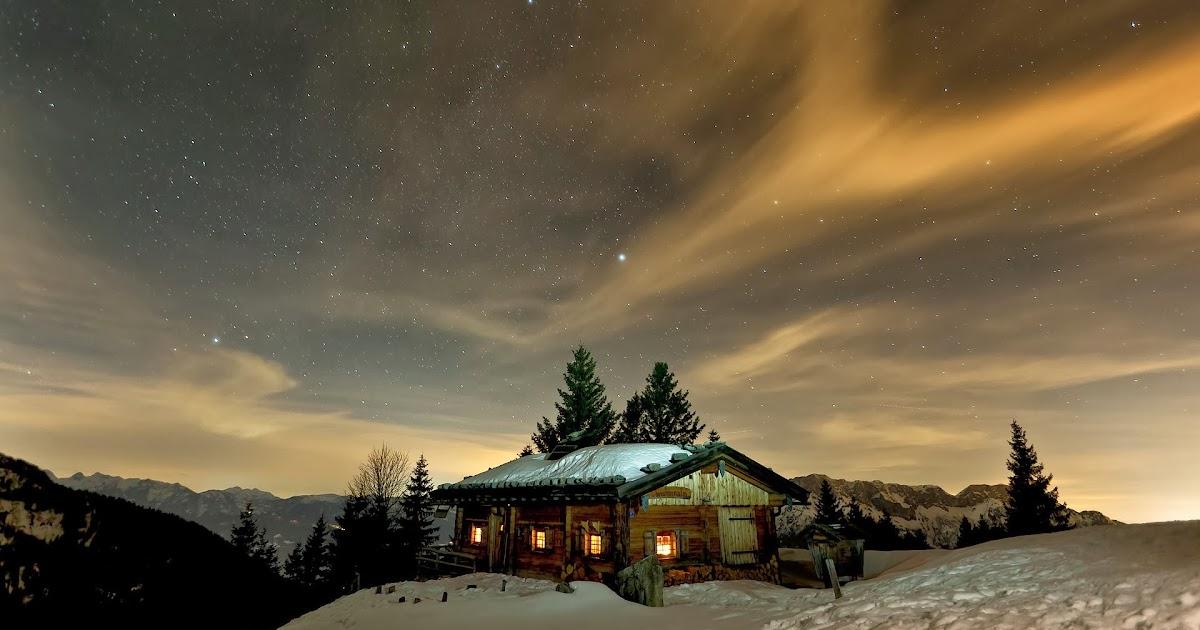 coolest cabins winter log cabin
