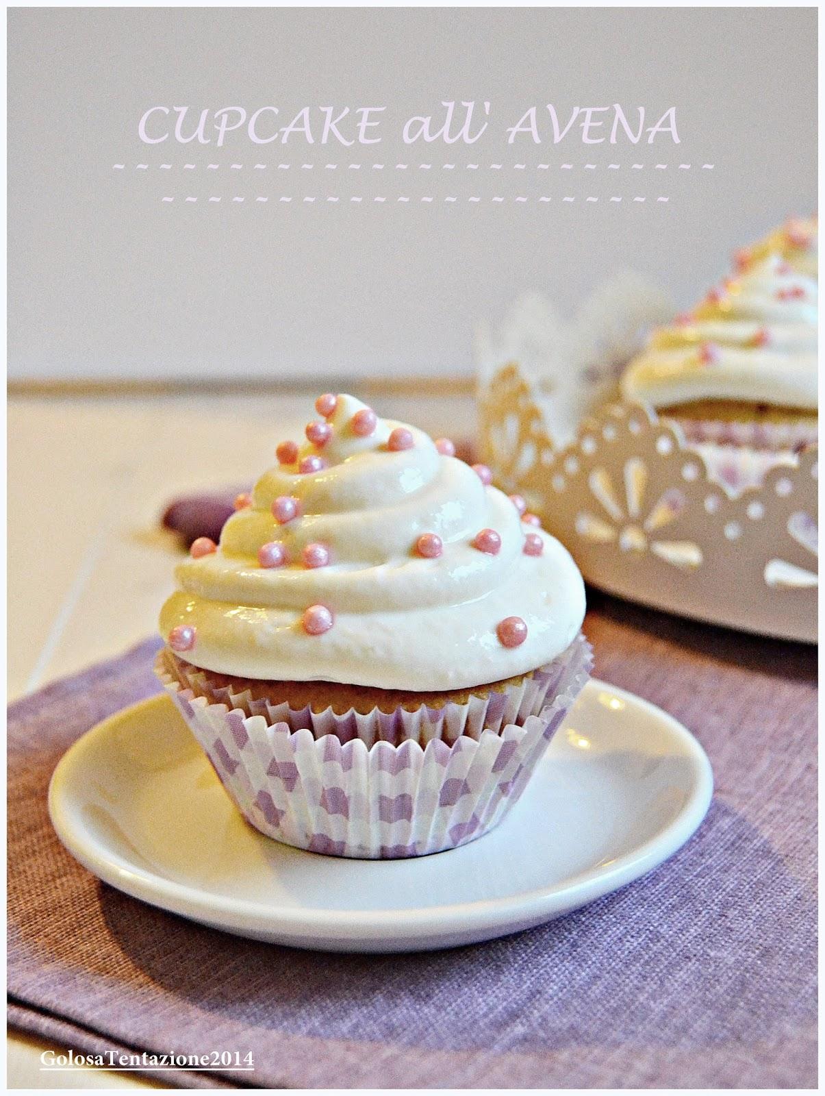 cupcake all'avena