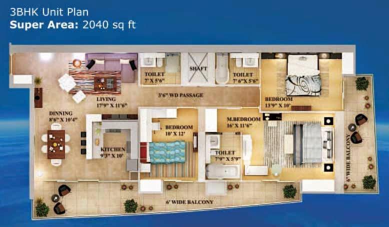 Nove floor plan