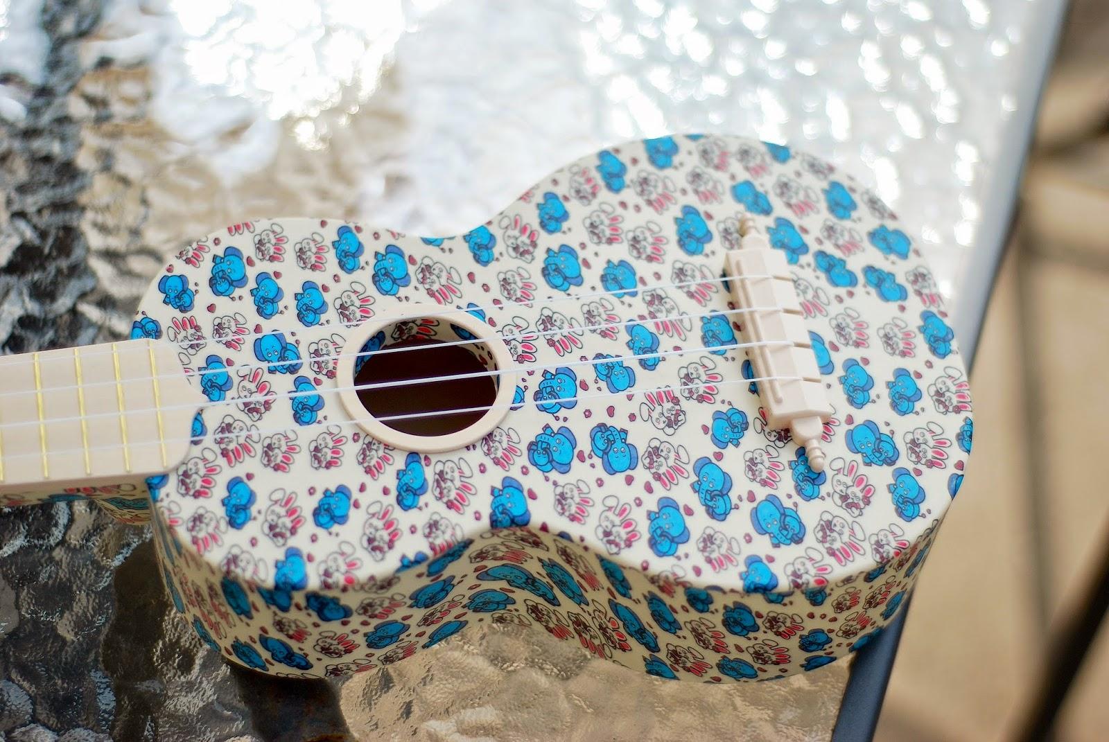 woodi plastic soprano ukulele body