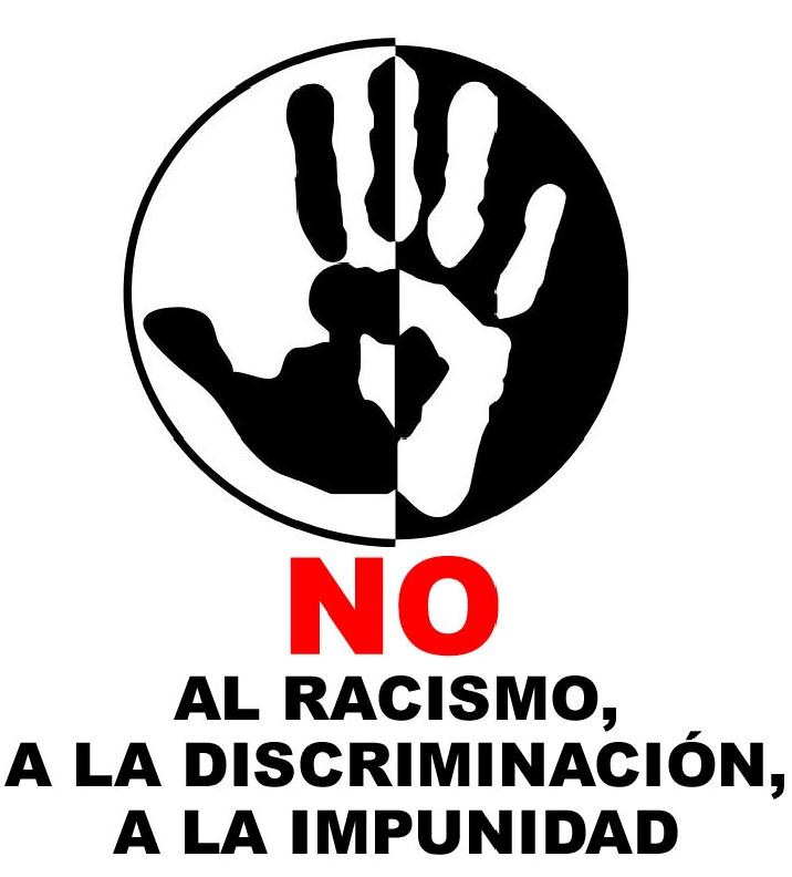 NO AL RACISMO, SI A LA IGUALDAD