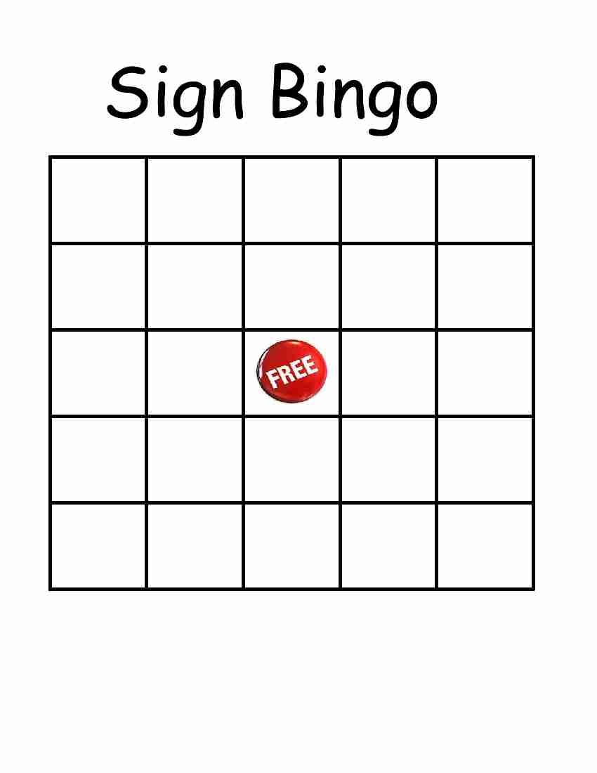 Empowered by them safety sign bingo safety sign bingo thecheapjerseys Image collections