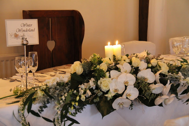 Spectacular Winter Wonderland Wedding Day at The Great Hall at Mains Louisa