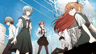 Evangelion 1 - 3 Movie Subtitle Indonesia