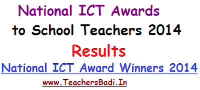 National ICT Awards 2014,Results,National ICT Award Winners
