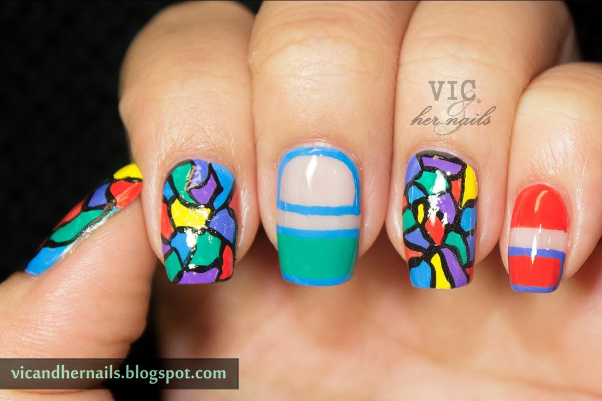 VicCopycat - Manicurator's Mosaic Nail Art