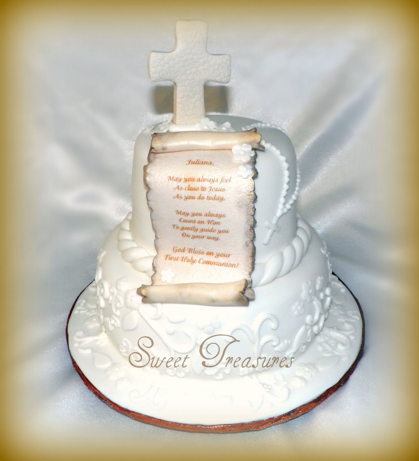 First holy communion cakes decorations ideas 84631 first h for 1st holy communion cake decoration ideas