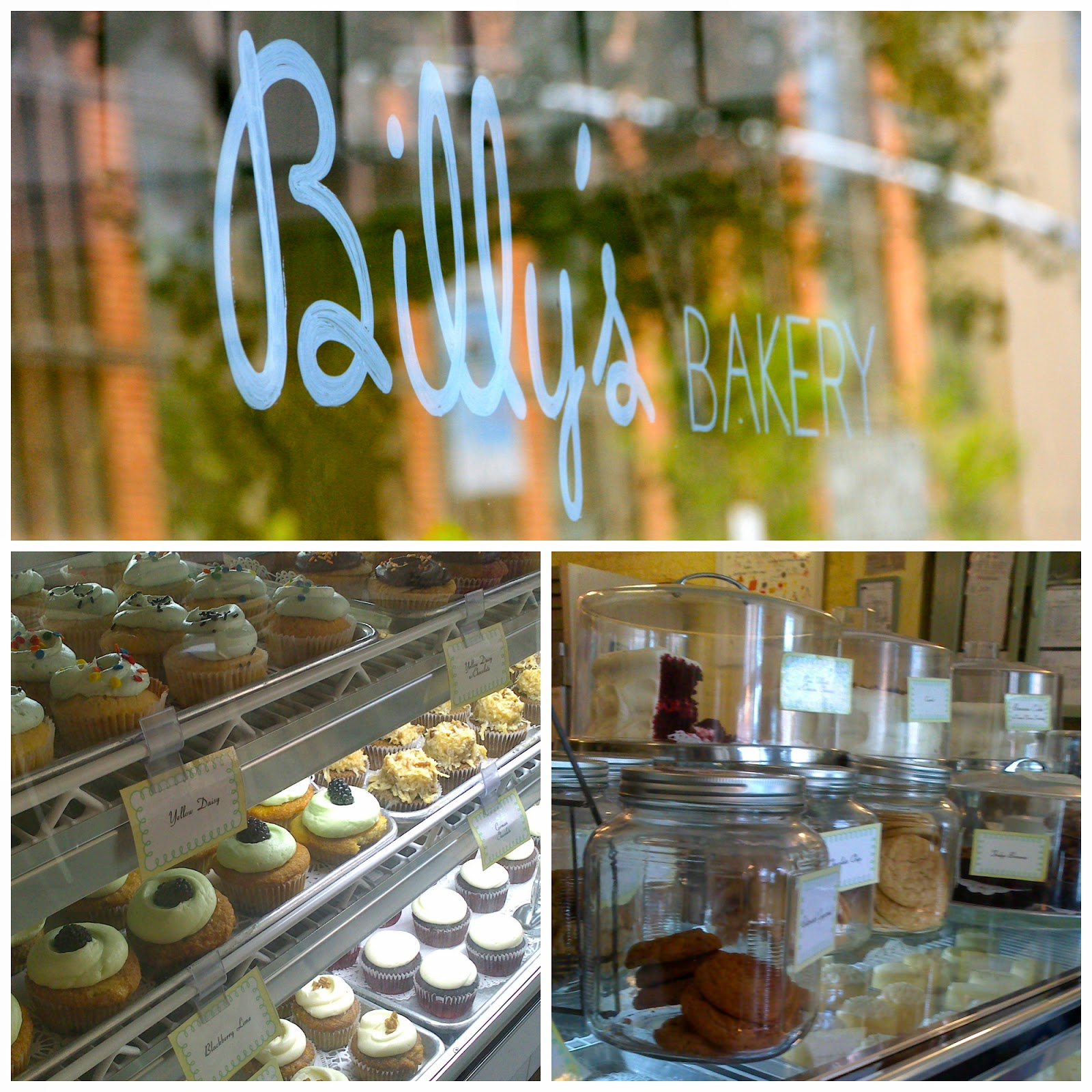Cupcakes i tartes de Billy's Bakery
