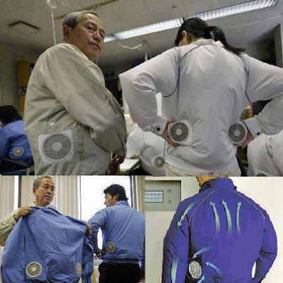 Japanese Company Designs Air-Conditioned Clothing