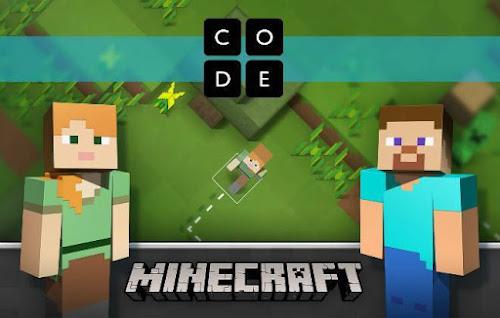 Crianças aprendem a programar com Minecraft