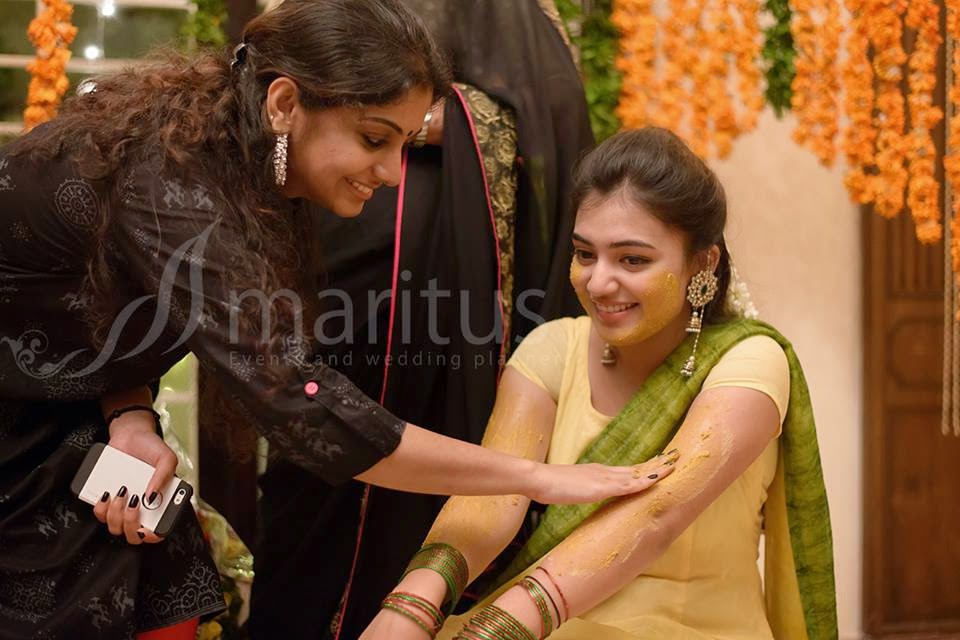 Reception Photos of Nazriya Nazriya Fahad Marriage Photos