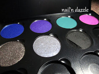 1492, palette, color, colours, eye, shadow, build, pan, refill, Ultra Violet, Teal Tuesday, Euphoria, Primal, Twilight, Unzipped.