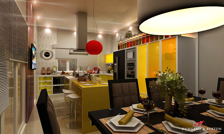 uma linda cozinha amarela daquelas de novela !!! confira aqui meu novo  #BD960E 1500 900