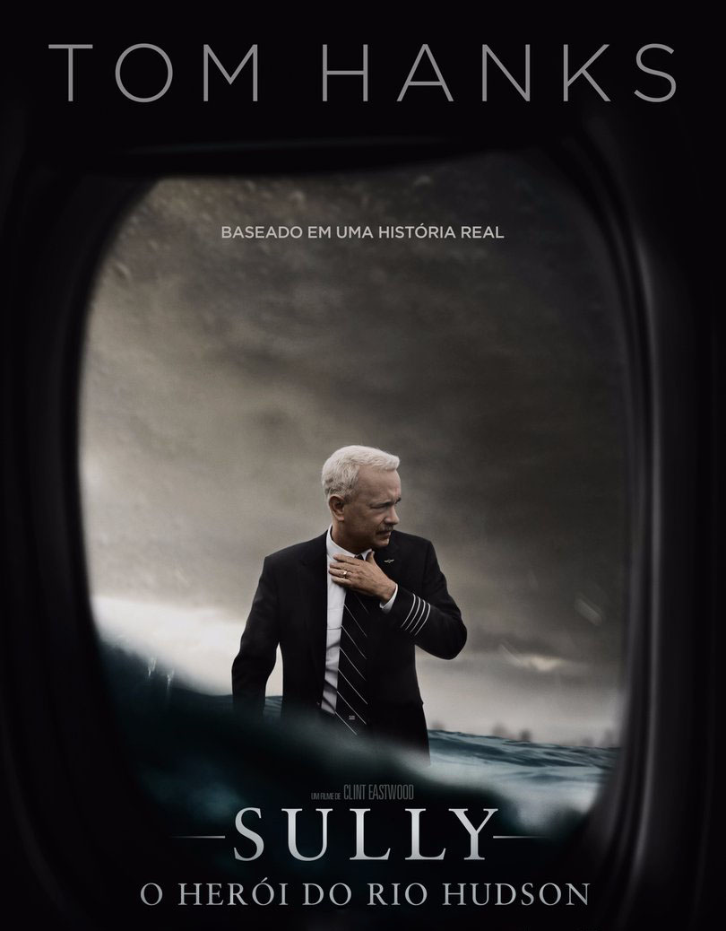 Sully: O Herói do Rio Hudson 2016 Torrent - BluRay 4K Dual Áudio