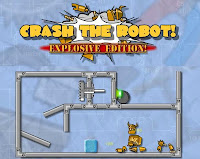 Crash The Robot 2 walkthrough.