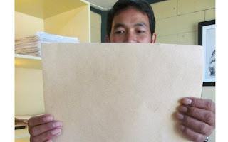 produz papel a partir das fezes de elefante
