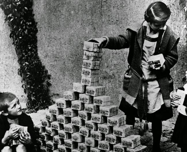 Hiperinflación Alemania 1922