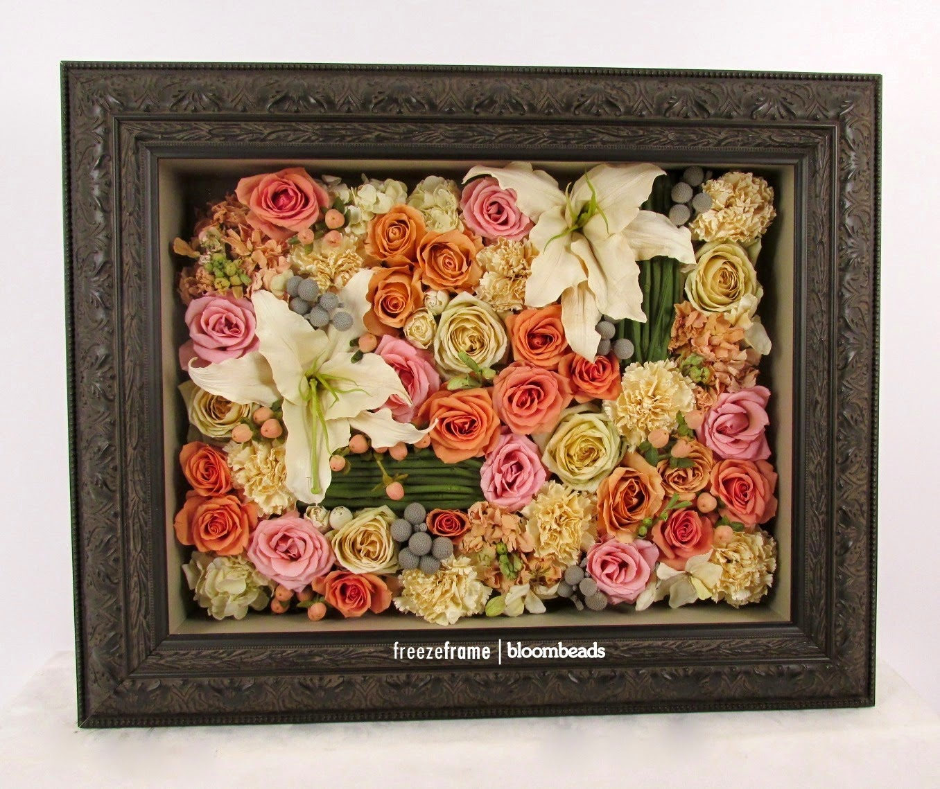 Frame Your Wedding Flowers Preserved Wedding Bouquet In Shadowbox