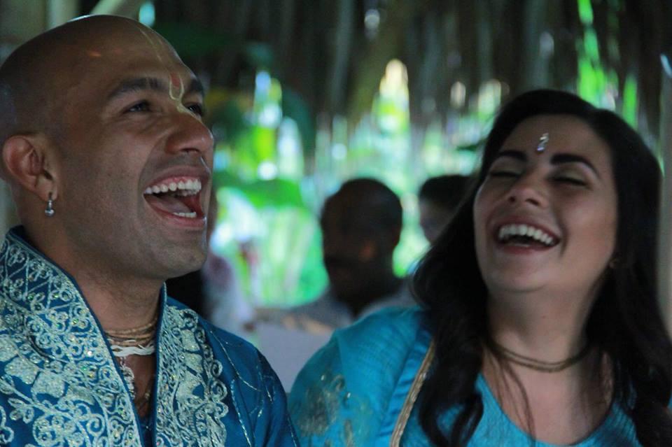 La boda de Aloína y Jayati