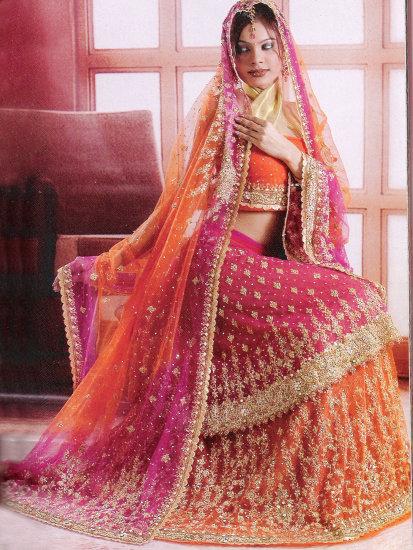 Pink lehenga choli for young girls 282 29