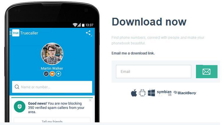 true caller download for windows phone