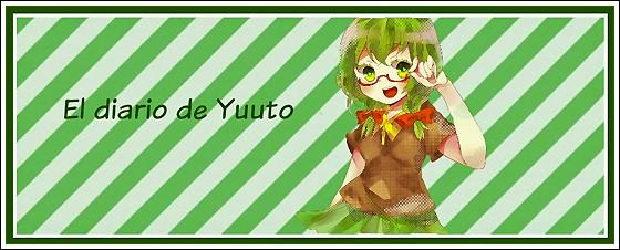 Cabecera del blog El diario de Yuuto