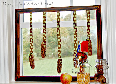 pinecones, pine cones, crafts with pinecones, craft project