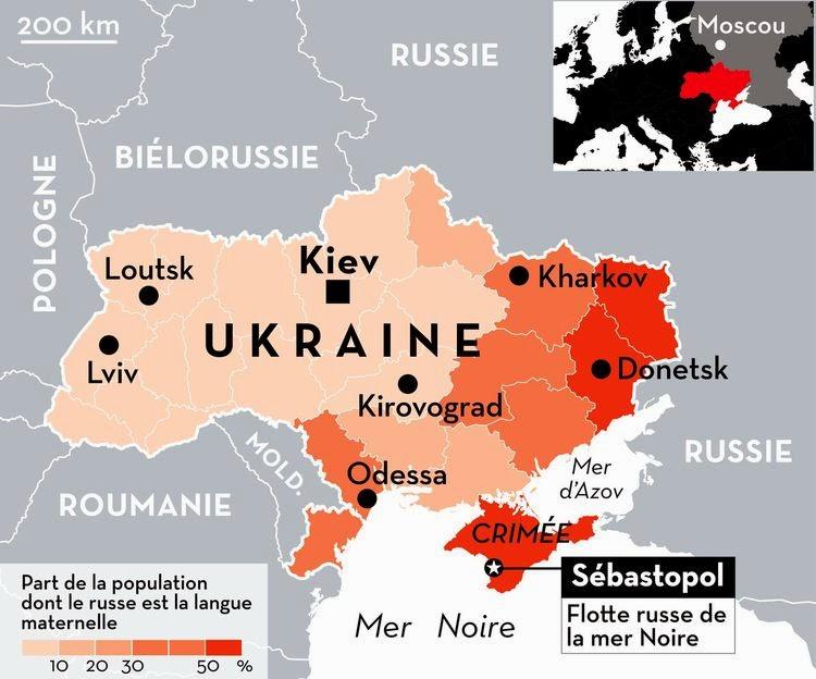 M n ukraine russe