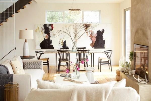 Deco r stico moderno con una mezcla ecl ctica decoraci n for Decoracion hogar rustico