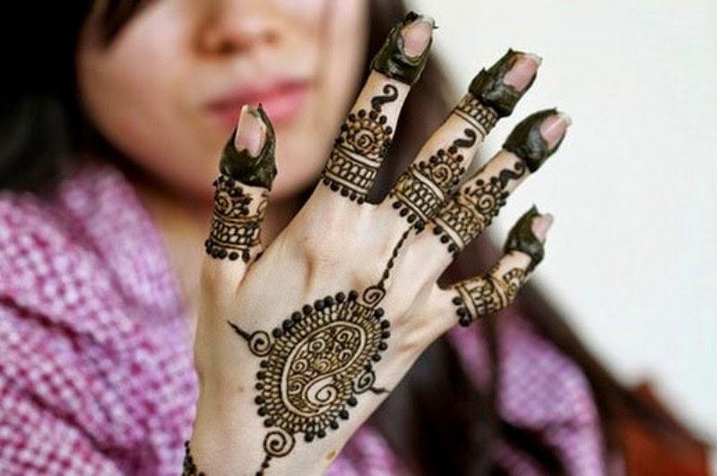 Gambar henna trend masa kini untuk anak