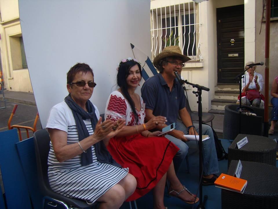 Festival Voix Vives - avec Josyane De Jesus-Bergey, Maram Al Masri et Patricio Sánchez (2015).